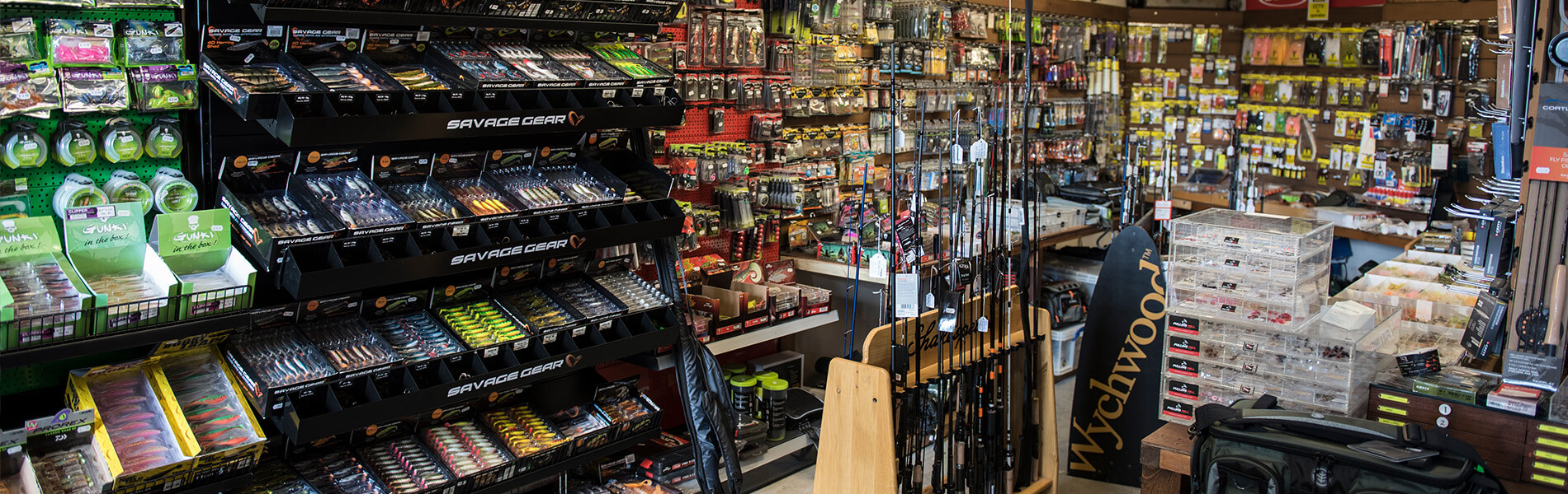 One of the best all<br> round fishing tackle<br> shops in the UK.
